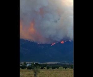 Alerta por macro incendio forestal
