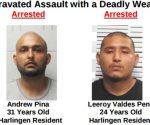 Atrapan a 2 acusados de violenta agresión