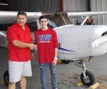 Harán real su sueño de ser piloto aviador
