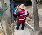 Avisan a 3 mil familias, vulnerables a deslaves