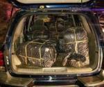 Rastrean desde el aire a vehículo con droga