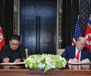 La famosa reunión de Donald Trump y Kim Jong-un