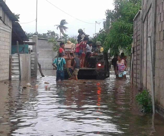 Deja huracán Bud afectaciones en 8 comunidades de Michoacán