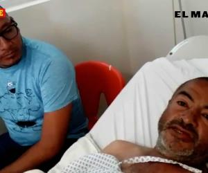 Pensé que iba a morir desangrado: Juan Alejandro Rodíguez