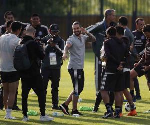 Visita a la Selección Mexicana