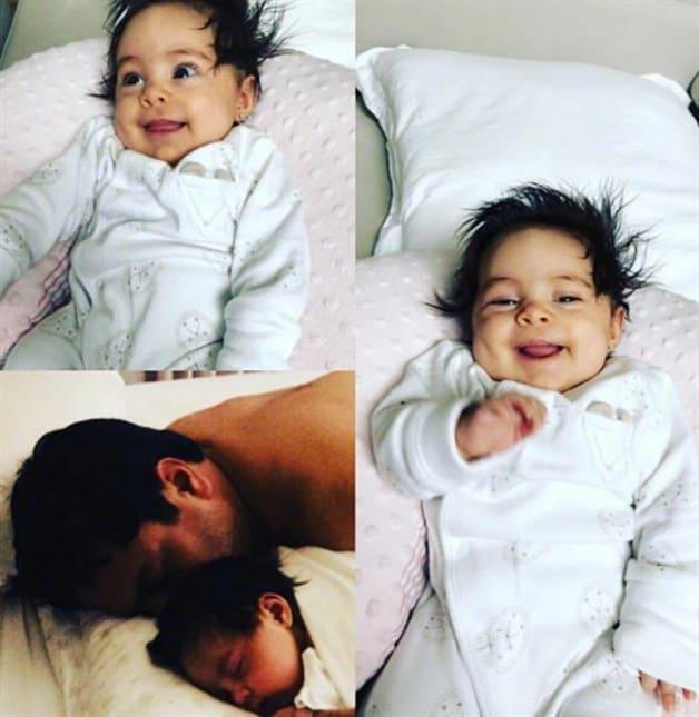 Presenta a su hija en Instagram