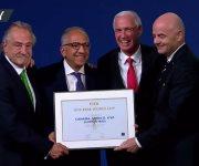 EE.UU., México y Canadá serán la sede del Mundial 2026