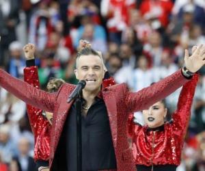 Inaugura Robbie Williams el Mundial Rusia 2018
