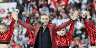 Inaugura Robbie Williams el Mundial Rusia 2018