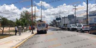 Otra fuga de amoniaco en fábrica de hielo, en Reynosa