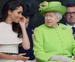 Meghan Markle viaja con la reina Isabel II