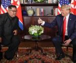 Se acredita Trump poner fin a la amenaza nuclear