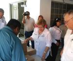 Llegan boletas electorales a Miguel Alemán