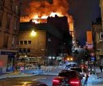 Arde en llamas Escuela de Arte de Glasgow