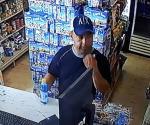 Captan en video a un despistado ladrón