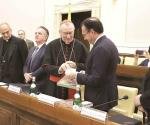 Inaugura el Papa coloquio entre México y el Vaticano