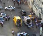 Taxi embiste a multitud en Rusia; tres mexicanos heridos