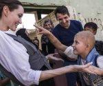 Angelina  Jolie visita ciudad iraquí