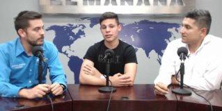 Poncho González en entrevista para EL MAÑANA DEPORTES