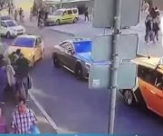 Taxi atropella mexicanos en Rusia 2018