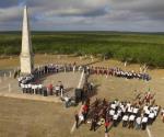 Celebran la Batalla de Santa Gertrudis