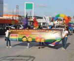 Realizan marcha del orgullo LGBTI