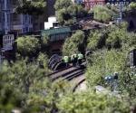 Tren arrolla a tres personas en Gran Bretaña