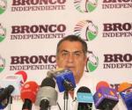 TAMAULIPAS: Descarta ´El Bronco´ dejar la contienda presidencial