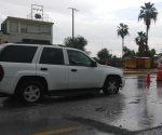 Registran inundaciones varias calles y avenidas