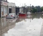Provocan lluvias caos vial e inundaciones en Matamoros