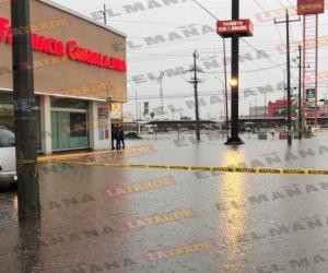 Diluvio paraliza a Reynosa