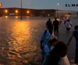 Evacuan a empleados de maquiladoras ante riesgo de inundación