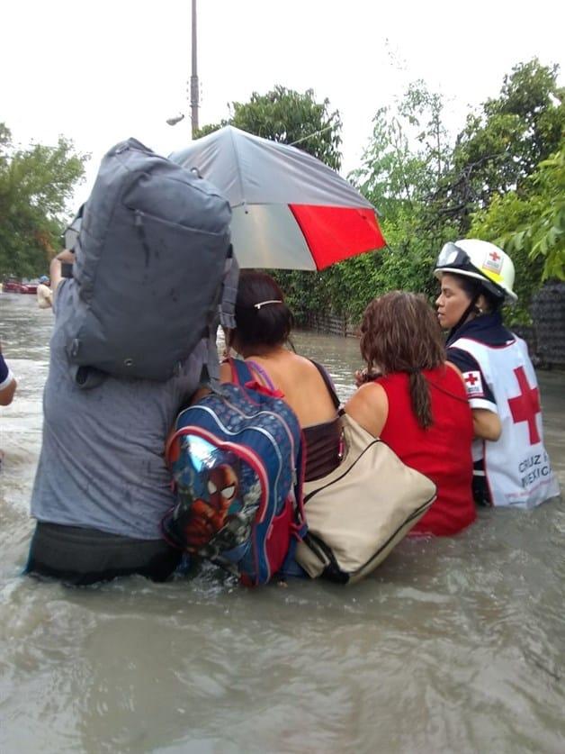 Utiliza Cruz Roja camión de rescate