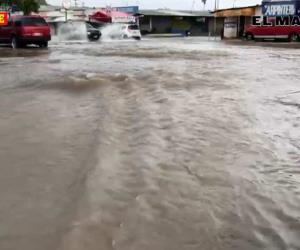 Tormenta sobre Reynosa