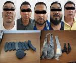 Captura Sedena a 5 presuntos integrantes de grupo delictivo