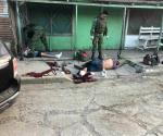 Infernal balacera; 1 muerto y 1 herido