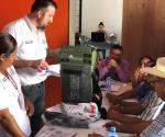 TAMAULIPAS: Detectan paquete electoral sin boletas en casilla de Cruillas