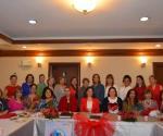 Rotarianas celebran desayuno de cumpleañeras