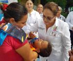Intensifican actividades de vacunación en niños
