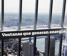 Científicos chinos desarrollan ventanas que generan energía