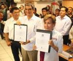 🎥 Entregan constancia de mayoría por el Senado a Américo Villarreal