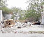 Basura invade calles de Nuevo Laredo