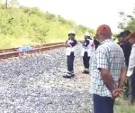 Muere ferrocarrilero arrollado por el tren. Dicen que se quedó dormido en la vía