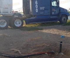 Reynosa: Aseguran tractocamión con combustible robado