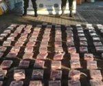 Decomisan en Guatemala 823 kilogramos de cocaína