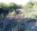 Resultan heridos en accidente adulto y menor reynosenses en San Fernando