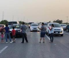 Crisis de Agua; los lleva a bloquear carretera