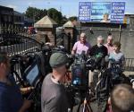 Lanzan artefacto explosivo al domicilio de Gerry Adams