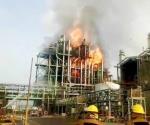 🎥 Explosión e incendio en planta Petro Temex de Altamira