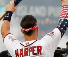 Se corona Bryce Harper campeón del Festival de Cuadrangulares de las Grandes Ligas